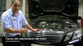 Como evitar calentamiento del motor