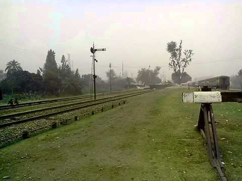 Karakoram train crossing sheikhupura