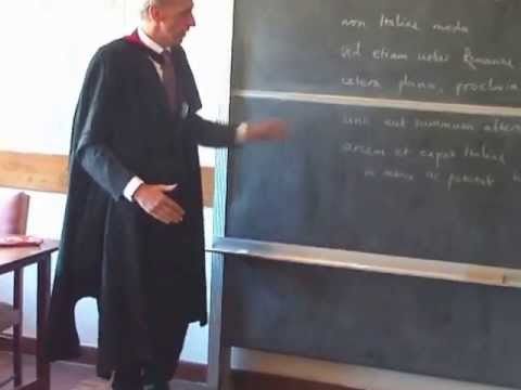 Teaching Latin at Kamuzu Academy