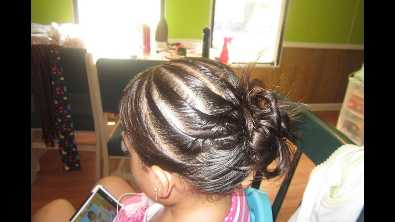 Peinados sencillos y facil para ninas opcion para - Peinados de nina ...
