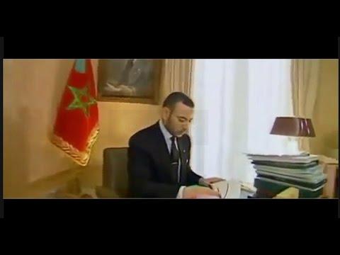 لأول مرة فيديو نادر للملك في شبابه وأثناء مزاولة عمله بمكتبه الخاص