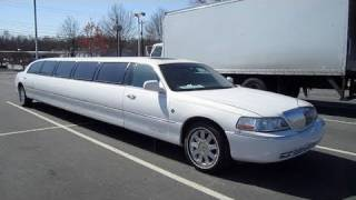 2003 Lincoln Town Car Cartier Limousine Start Up, Engine, and In Depth Tour videos