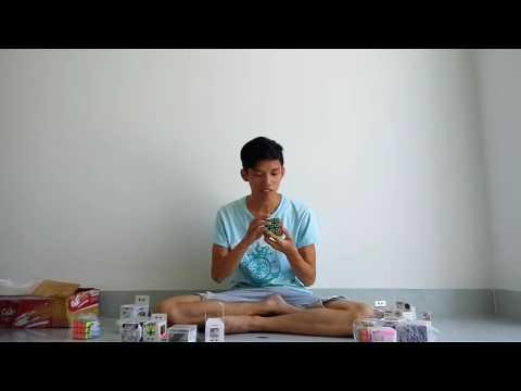 Mở gói hàng Rubik khai trương shop Rubik Nha Trang