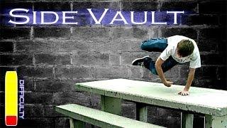 How to Side Vault - Parkour Tutorial