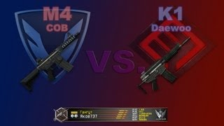 M4 CQB и Daewoo K1 + Daewoo K2 / Warface / Оружие