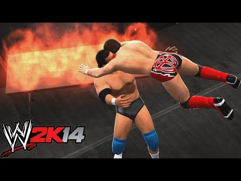 WWE 2K14 EXTREME MOMENTS!