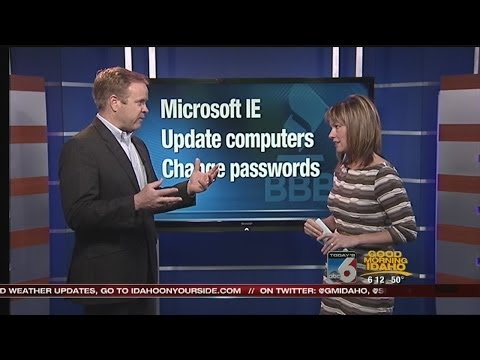 BBB warns, Internet Explorer has serious security risks