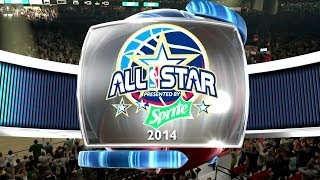 All Star Dunk Contest NBA 2K14 My Career