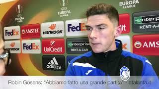 UEL BVB-Atalanta Robin Gosens: