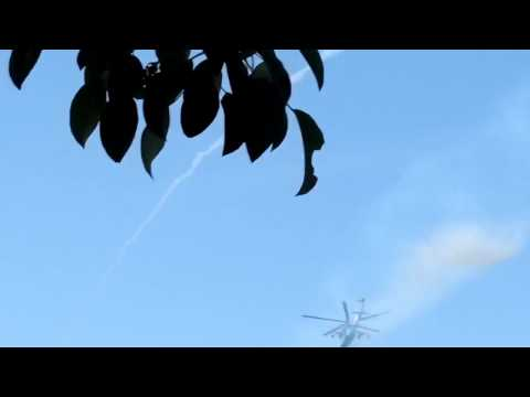 Ukrainian Helicopter Attacks Terrorists in Donetsk Airport