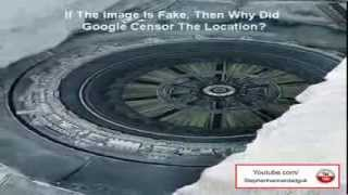 Alien Base And Flying Saucer Found In Antarctica 2013 HD