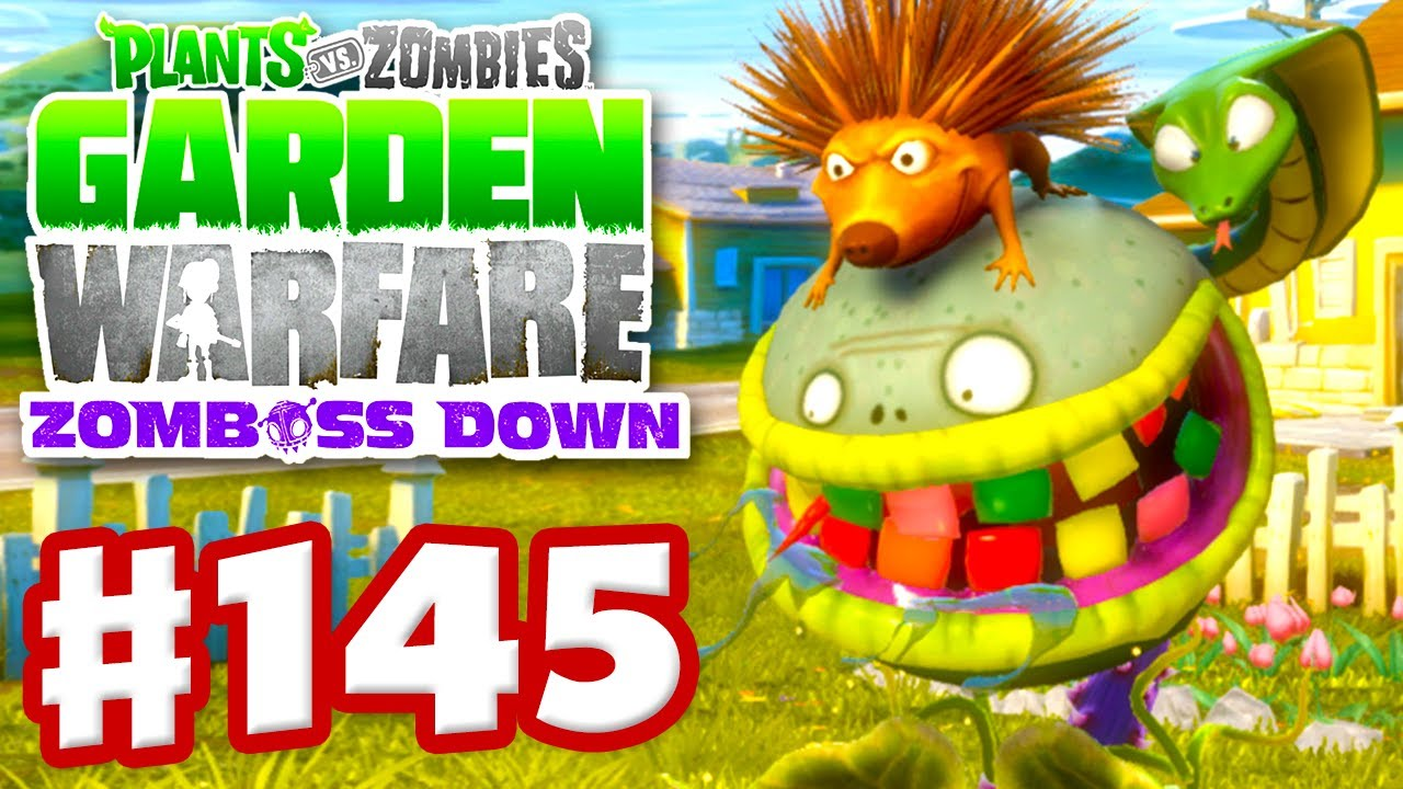 Plants Vs Zombies Garden Warfare Gameplay Walkthrough Part 145 Custom Chomper Xbox One