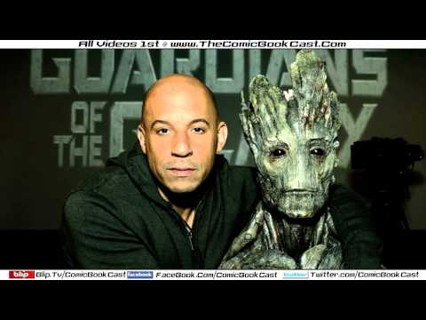 "Vin Diesel ""I Am Groot"" For Marvel's GUARDIANS OF THE GALAXY"