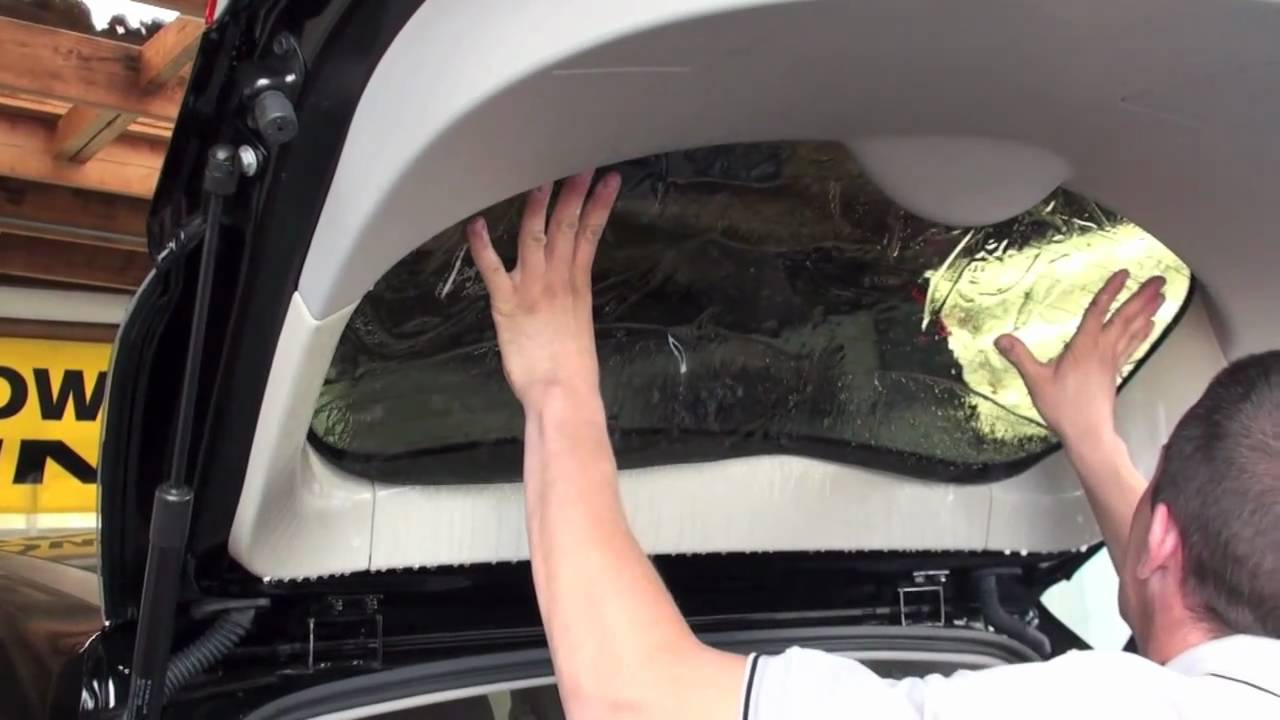 How Car Window Tinting Is Done A Great After Market