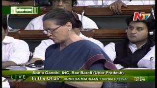 Sonia Gandhi Slams BJP Government