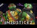 Injustice 2 Online EPIC NINJA TURTLES GEAR