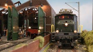 Bahnbetriebswerk Wuppertal Modellbahn in Spur 1