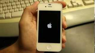 Problema Com IPhone 4s: Ao Ligar Fica Na Tela Do Logotipo