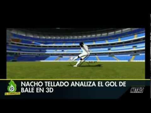 El Chiringuito de Jugones - Bale disparó a 110 km/h, el Análisis en 3D