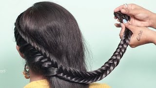 Easy hairstyle using clutcher with trick | Wedding hairstyles | new hairstyle | easy hairstyles