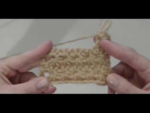 Πλεξη Αστερακι/ Crochet Star Stitch Tutorial