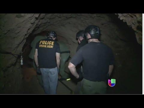 'Narco' túneles de Joaquín El Chapo Guzmán entre México y Estados Unidos -- Noticiero Univisión