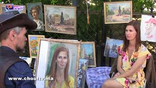 شوفو جمالية ساحة ريد سكوير بروسيا مع الجمهور المغربي وباقي الجنسيات   |   خارج البلاطو