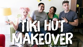 Tiki Hut Tiny Apartment Makeover | Breaking Beige | Mr. Kate