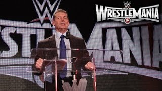 WWE Chairman Announces WrestleMania 31 Host City: Bay Area's Santa Clara, Calif.