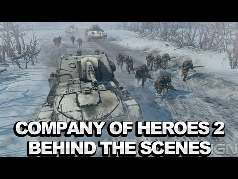 Company of Heroes 2 - создание подлинной атмосферы происходящих событий (интервью IGN)