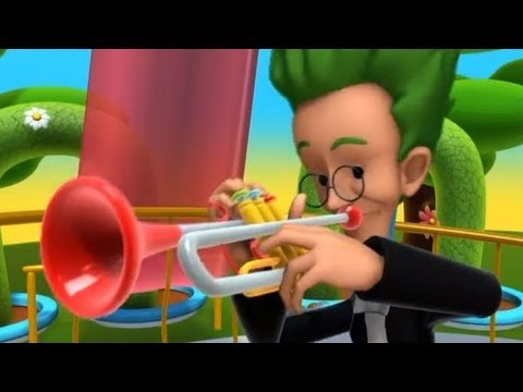 Alex and the Music: Trumpet. Cartoon for toodlers and kids