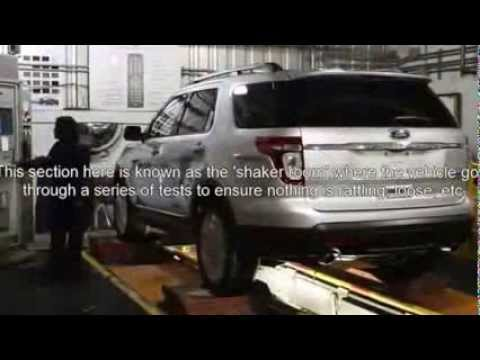 Ford Motor Co Chicago Assembly Plant Tour Youtube