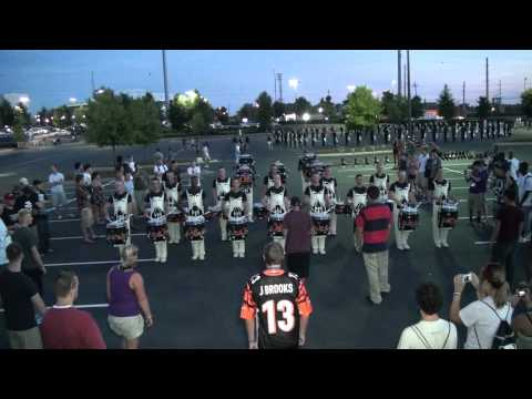 "DCI 2011 Carolina Crown Drumline @ GA Dome ""Book"" (1 of 4)"