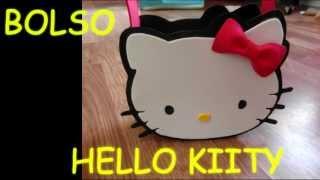 MANUALIDADES :como Hacer Bolso (dulcero) Hello Kitty Amigo