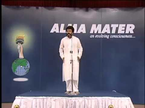 T T Rangarajan, Founder, Alma Mater speaks on DINACHARYA360p H 264 AAC)
