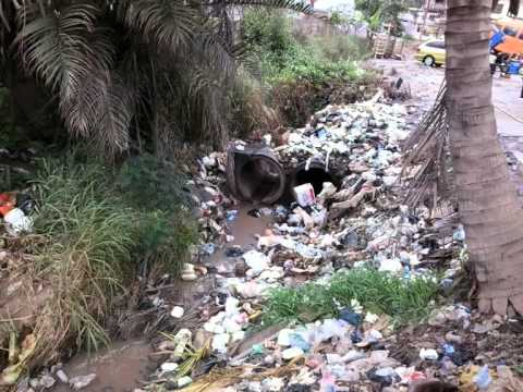 Ghana plastic waste to fuel project