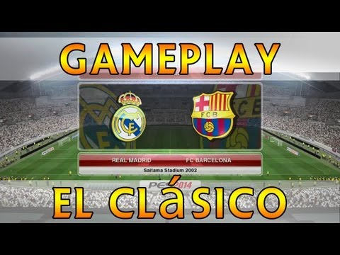 [TTB] PES 2014 - Real Madrid Vs Barcelona - El Clasico! - Full Game