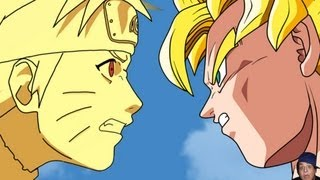 Naruto Vs Dragon Ball Z The Battle Revisited!!!