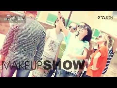 samah hasan : my AHLAN make-up show in mansoura PART ( 3 )