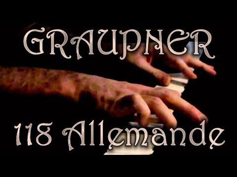 Christoph GRAUPNER: Allemande (Monatliche Klavierfr�chte,...