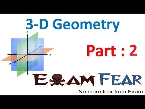 Maths 3 Dimensional Geometry part 2 (Direction Cosine, Ratios) CBSE class 12 Mathematics XII