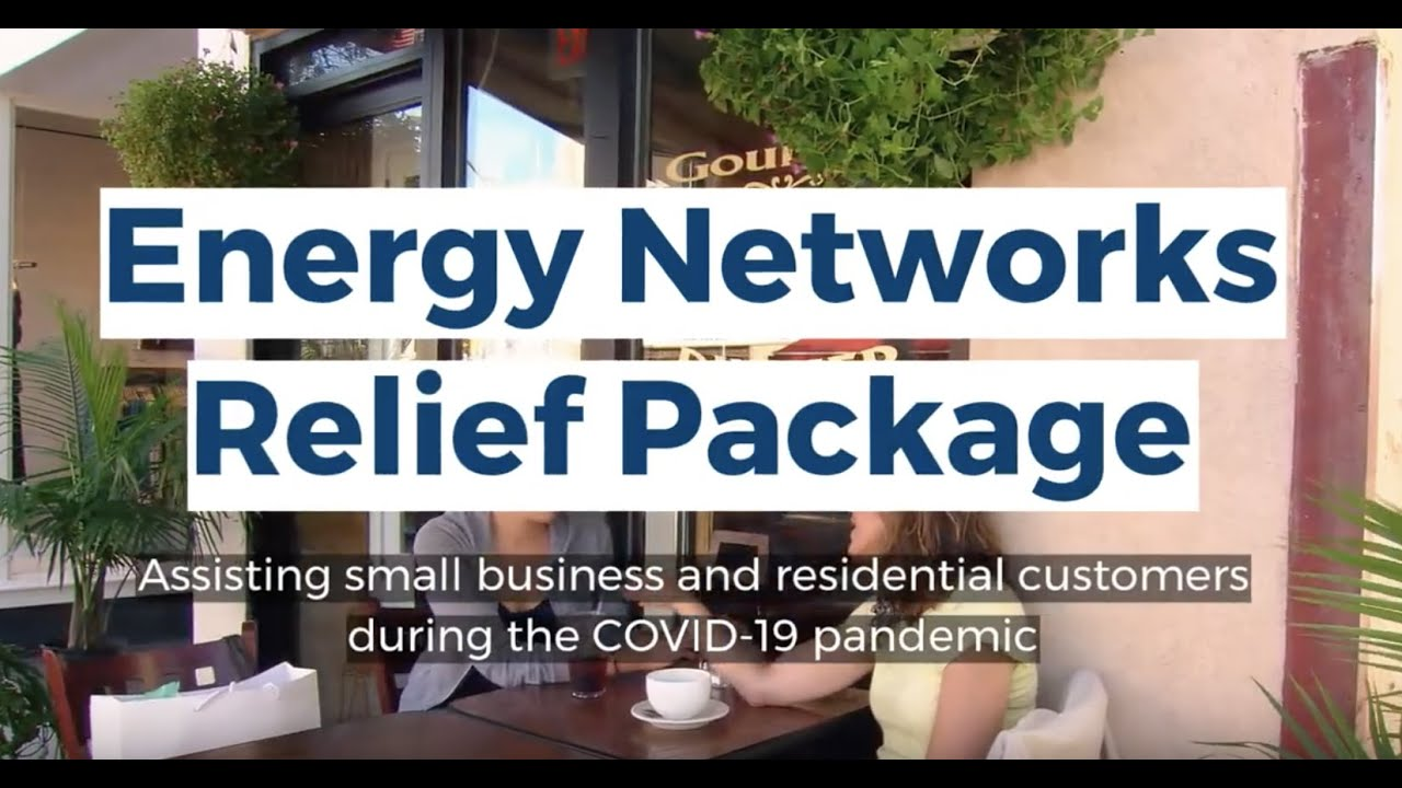 Energy network COVID-19 relief package