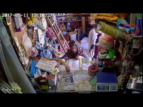 اشتوكة: كاميرا ثوثق سرقة من داخل دروكري بسيدي بيبي