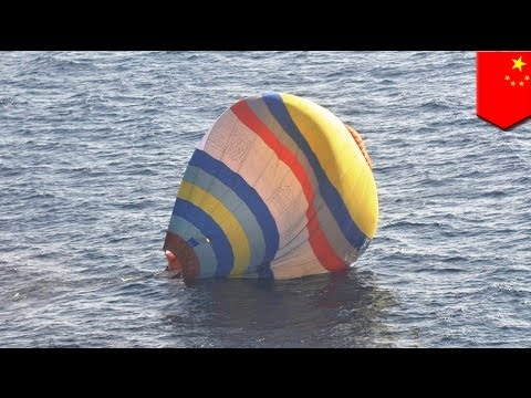 Chinese man crashes hot air balloon near disputed Japanese islands