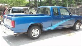 1993 Dodge Dakota 4x4 5.2L v8 Magnum 318 videos