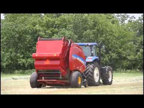 Roll-Belt 560 Round Baler from New Holland