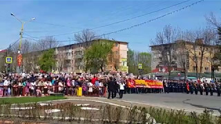 ПАРАД ПОБЕДЫ ГОРОД АРТЕМ (интернет-трансляция) (9 МАЯ 2017)