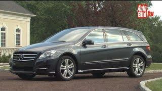 Facelift f�r Mercedes R-Klasse videos