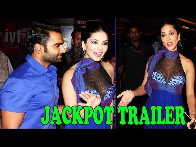First Look Launch Of Film ''JACKPOT'' - Sunny Leone