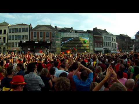 Belgium - Russia / 1 - 0 @ Sint-truiden Grote markt